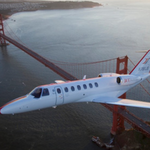 Chartered flight